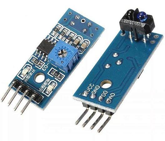 Sensor De Linha Segue Faixa Infravermelho IR TCRT5000 LM393