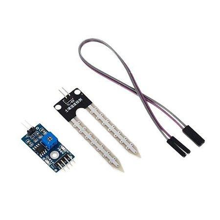 Sensor de Umidade do Solo Higrômetro