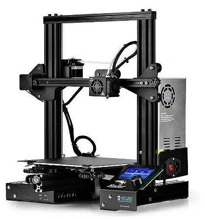 Ender-3 Impressora 3D Original c/nf + BRINDE DE 1 KG DE FILAMENTO