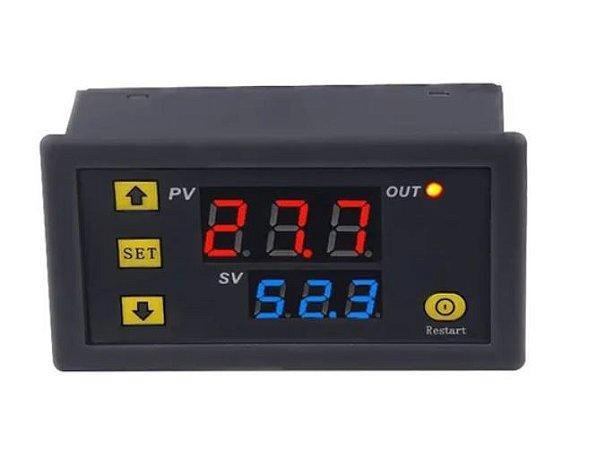 CONTROLADOR DE TEMPERATURA DIGITAL TERMOSTATO W3230 110 ˜ 220VAC