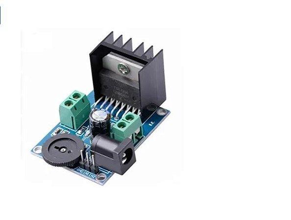 Módulo Amplificador De Audio Tda7266 Dual 7+7w