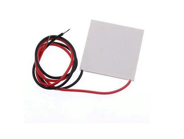 PASTILHA PELTIER TEC1-12710 DC12V 10A 40X40X3.2MM