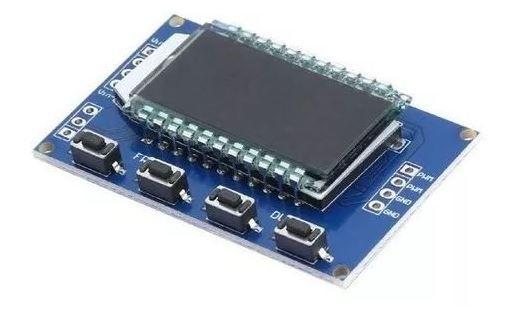 MÓDULO GERADOR DE PWM C/ DISPLAY LCD  1HZ-150KHZ 3 3V A 30V