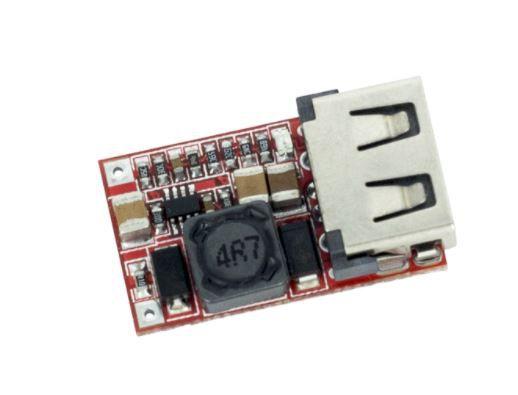 CONVERSOR STEP DOWN 6/24VDC PARA 5V 3A USB
