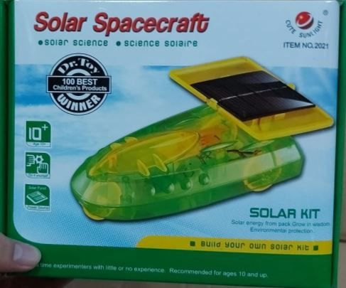 Kit Educacional Solar Spacecraft