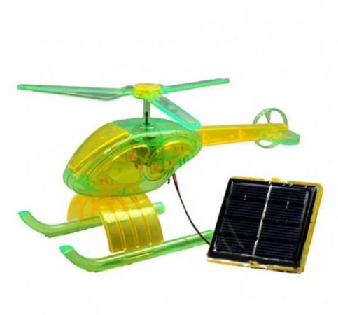 KIT EDUCACIONAL EXPERIMENTOS SOLAR HELICOPTERO