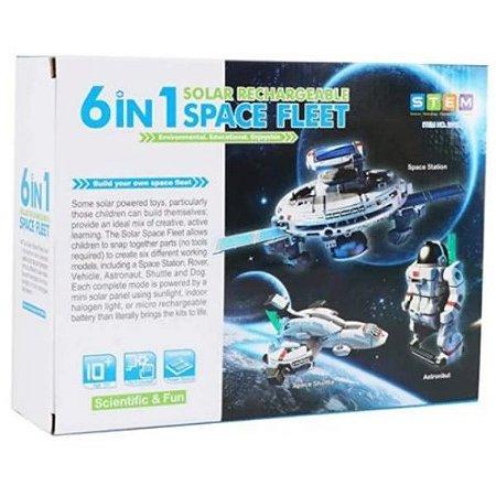KIT EXPERIMENTOS SOLAR 6 EM 1 SPACE FLEET
