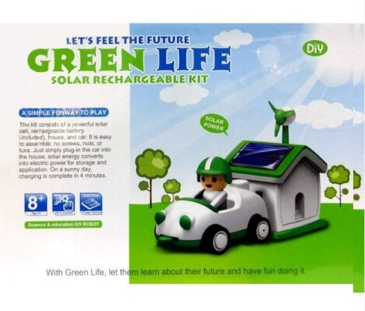 KIT EDUCACIONAL SOLAR  GREEN LIFE