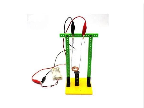 KIT DIY - Experimento Eletromagnetismo Educativo