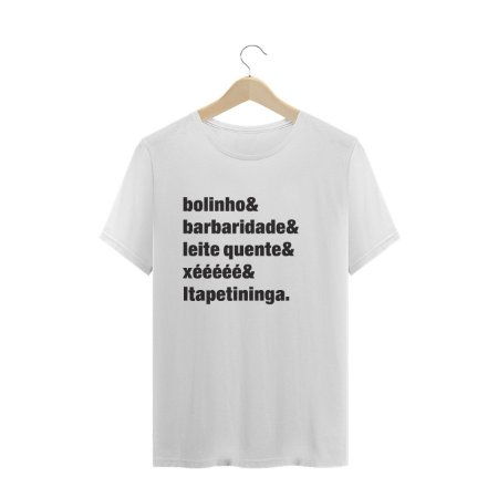 Camiseta Bolinho Itapetininga