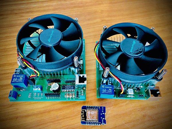 Kit placas Nextbrew DUO FullDrive - 2 Panelas - Mostura/Fervura + Auxiliar (Esparge)