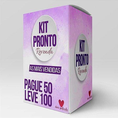 Kit Revenda 50 - Modelos Mais vendidos Pague 50 leve 100