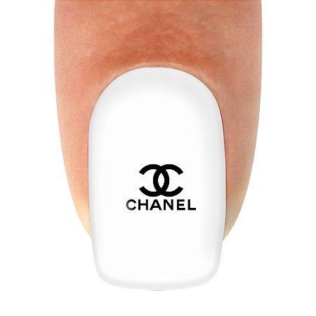 Adesivo de unha Variado Chanel 289 com 12un