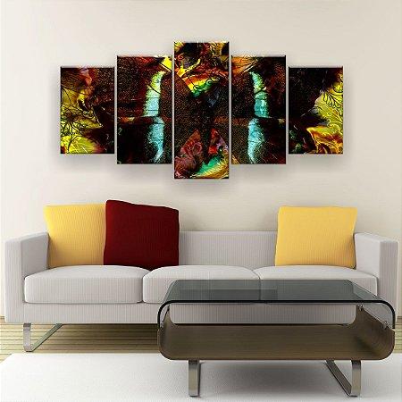 Quadro Decorativo Borboleta 129x61cm Sala Quarto