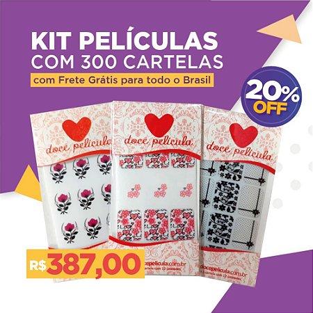 Kit Películas 300 unidades
