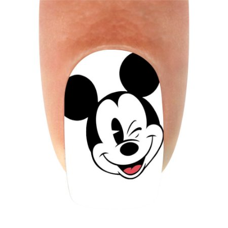 Adesivo de Unha Mickey 03 - 12un