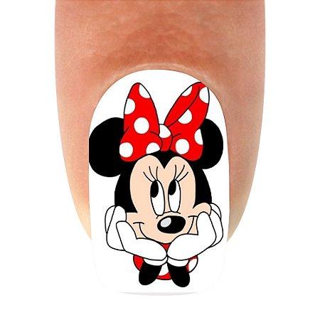 Adesivo de Unha Mickey 07- 12un
