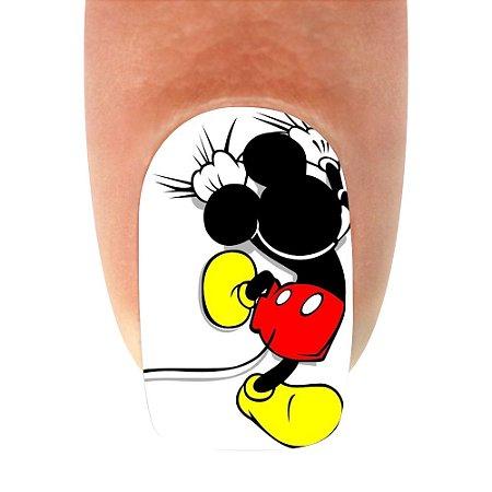 Adesivo de Unha Mickey 11- 12un