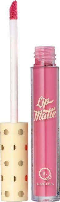 Latika Lip Matte Rosa Nº 6 - Batom Líquido 4ml