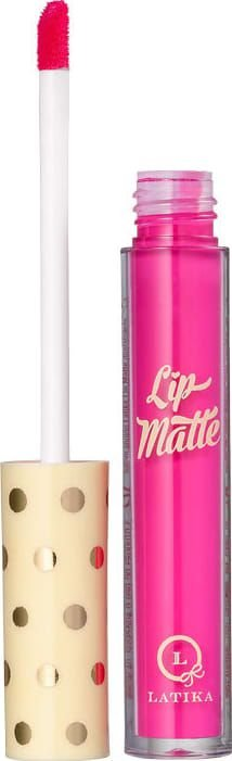 Latika Lip Matte Rosa Nº 8 - Batom Líquido 4ml