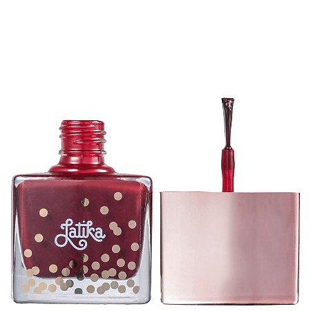 Esmalte Cremoso Latika - Confetti Wine 9ml