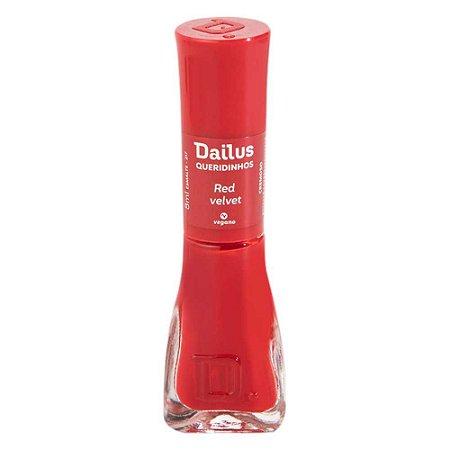 Esmalte Cremoso Dailus Queridinhos – Red Velvet