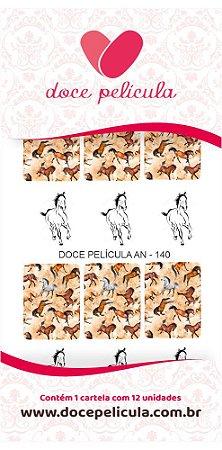 Adesivo de Unha Animal 140 - 12un