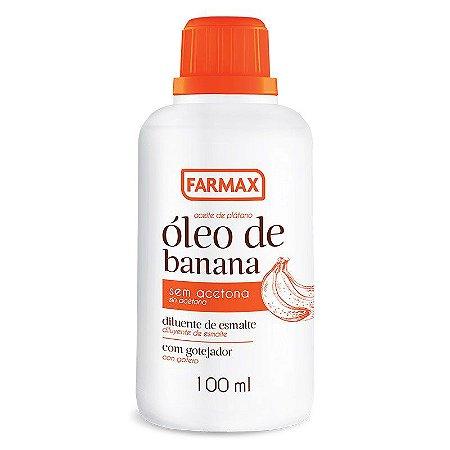 Óleo de Banana Farmax 100ml