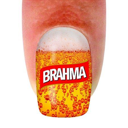 Adesivo de unha Variado 265 Brahma com 12un