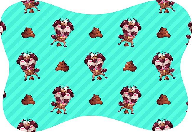 Tapete Decorativo Osso Pet Cachorrinho Cocô