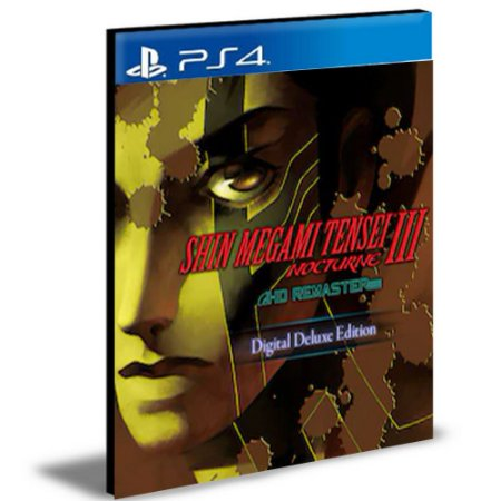 Shin Megami Tensei III Nocturne HD Remaster DELUXE EDITION PS4 e PS5 PSN MÍDIA DIGITAL