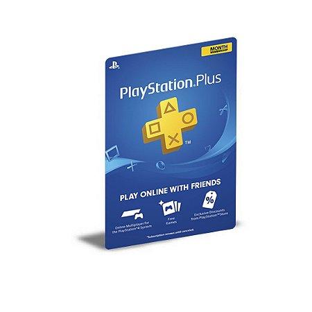 PSN PLUS PLAYSTATION USER PS5 1 MÍDIA DIGITAL