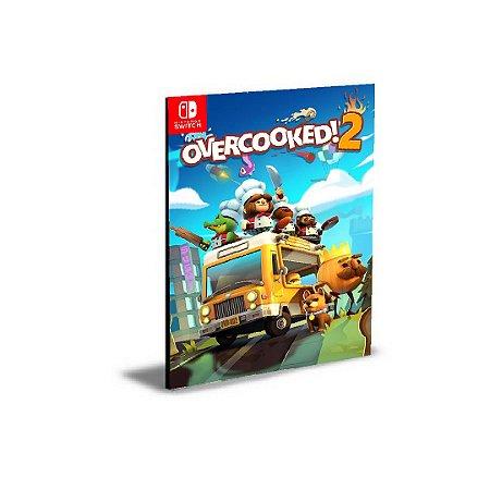 Overcooked 2 Nintendo Switch Mídia Digital