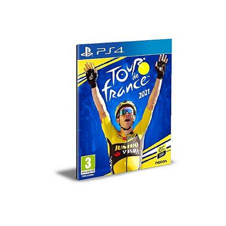 Tour de France 2021 PS4 e PS5 PSN  MÍDIA DIGITAL