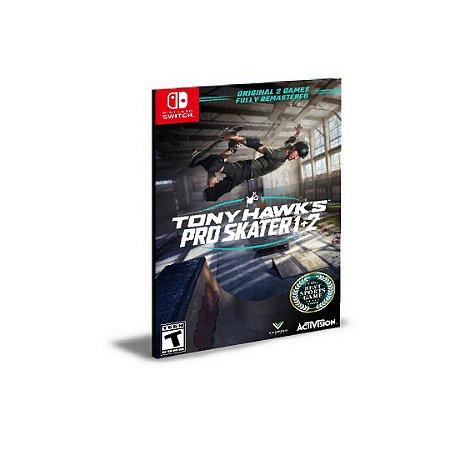 Tony Hawk's Pro Skater 1 + 2  Português Nintendo Switch Mídia Digital