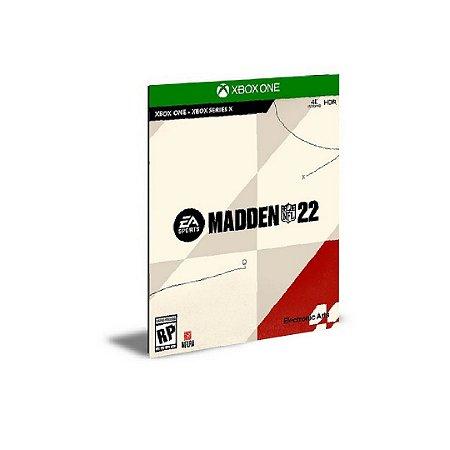 Madden NFL 22 Xbox Series X S MÍDIA DIGITAL - PRÉ-VENDA