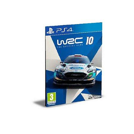 WRC 10 FIA World Rally Championship PS4 PSN  MÍDIA DIGITAL
