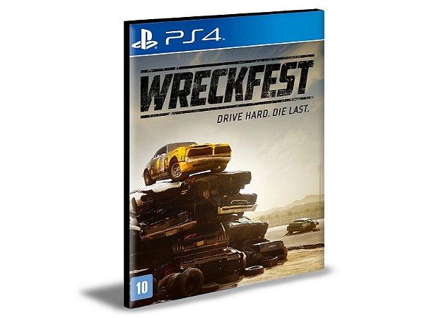 Wreckfest Ps4 e PS5 Mídia Digital