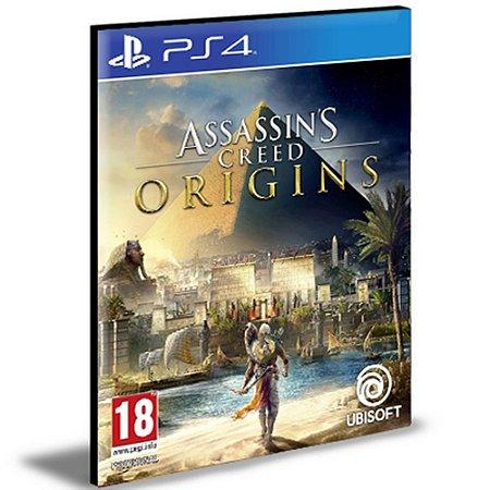 Assassins Creed Origins Ps4 e Ps5 Psn Mídia Digital
