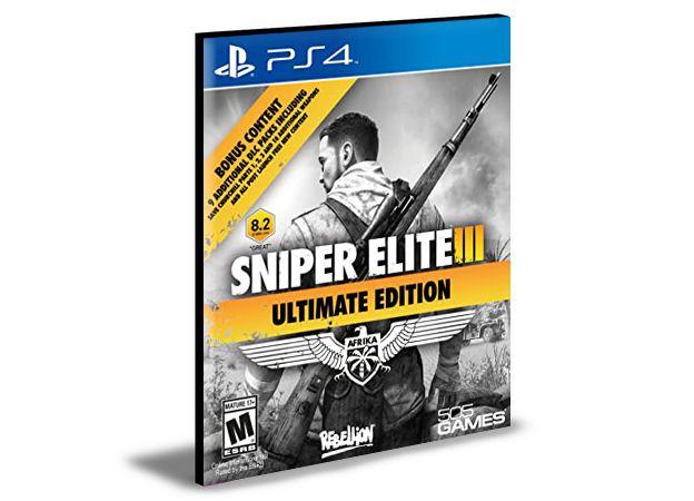 Sniper Elite 3 Ultimate Edition Ps4 e Ps5  Português  Mídia Digital