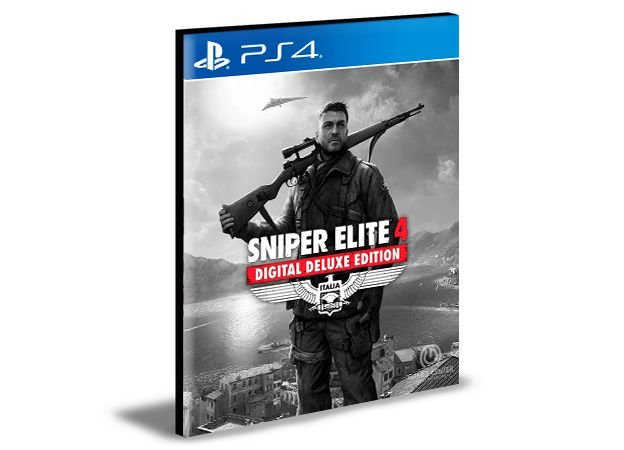 Sniper Elite 4 Deluxe Edition Português Ps4 e Ps5 PSN Mídia Digital