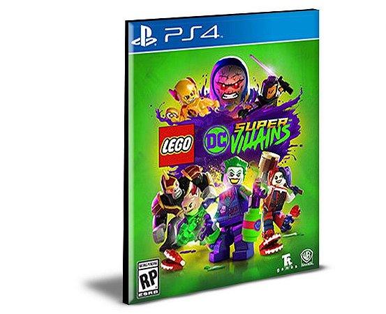 Lego Dc Super Villains PS4 e PS5 PSN MÍDIA DIGITAL