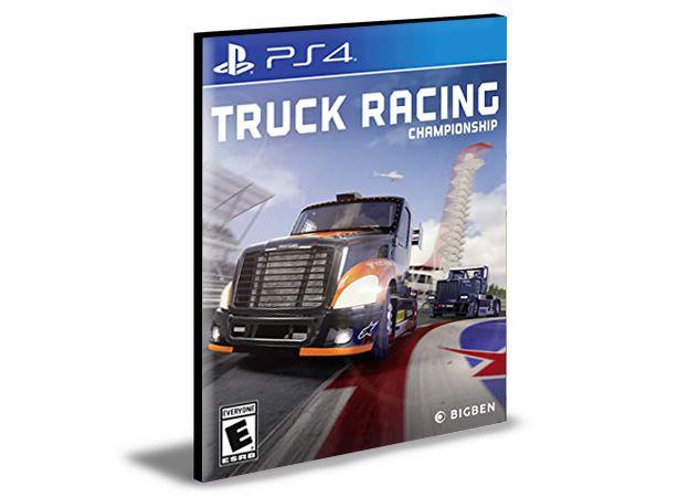 Truck Racing Championship Ps4 e Ps5 Psn  Mídia Digital