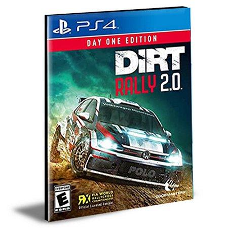 Dirt Rally 2.0 Ps4 e Ps5 Psn Mídia Digital