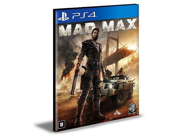 Mad Max Ps4 e Ps5 MÍDIA DIGITAL