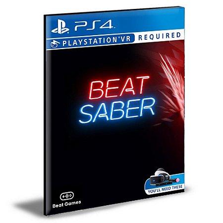 Beat Saber VR Ps4 Digital Promoção