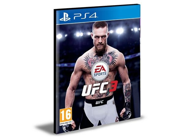 UFC 3 PS4 e PS5 PSN MÍDIA DIGITAL