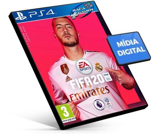 Fifa  20 2020  Ps4  Psn Mídia Digital