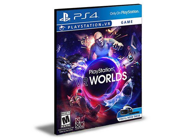 Playstation Vr Worlds | Português| Ps4 | Mídia Digital