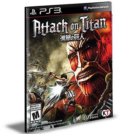 Attack On Titan | Ps3 | Psn | Mídia Digital